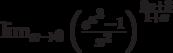 \lim_{x\to 0}\left(\frac{e^{x^3}-1}{x^2}\right)^{\frac{8x+3}{1+x}}
