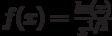 f(x)=\frac{ln(x)}{x^{1/2}}