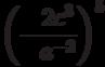 \left( { - \frac{{2c^3 }}{{a^{ - 2} }}} \right)^5