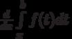 \frac{d}{dx} \int\limits_x^b f(t)dt