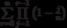 \sum\limits_{r=3}^{n}\prod\limits_{j=1}^{r-1} \left (1-\frac{j} {n} \right)