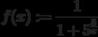f(x):=\frac{1}{1+5^\frac{5}{x}}