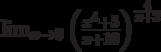 \lim_{x\to 0}\left(\frac{x^4+5}{x+10}\right)^{\frac{4}{x+2}}