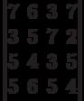 \begin{vmatrix}7 & 6 & 3 & 7\\3 & 5 & 7 & 2\\5 & 4 & 3 & 5\\5 & 6 & 5 & 4\\\end{vmatrix}