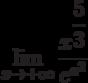 $\lim\limits_{x\rightarrow+\infty}\dfrac{x^{\dfrac{5}{3}}}{e^{x^{2}}}$