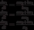 \\                    \frac{dx_1}{dt}=\frac{ax_2+bx_1}{bx_3}\\                    \frac{dx_2}{dt}=\frac{ax_2+bx_1}{ax_3}\\                    \frac{dx_3}{dt}=\frac{ax_2+bx_1}{x_3}\\