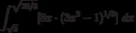 \int ^{\sqrt{28/3}}_{\sqrt {3}}[8x \cdot(3x^2-1)^{1/3} ]\ dx