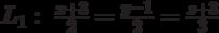 L_1:\  \frac{x+3}{2}=\frac{y-1}{2}=\frac{z+3}{3}