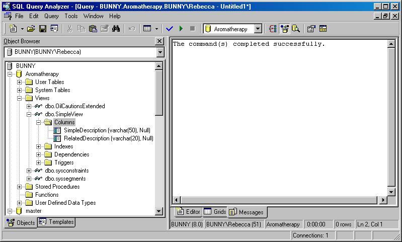 Пример Программы Transact Sql Query