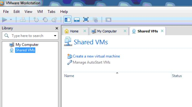 Shared VMs