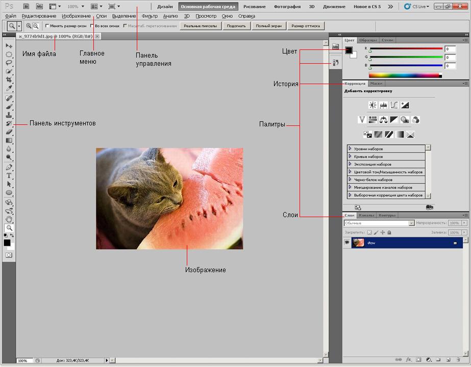 Программа фотошоп cs