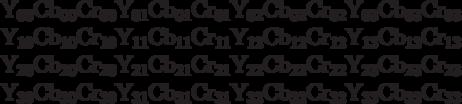 \begin{array}{l} {\rm Y}_{{\rm 00}} {\rm Cb}_{{\rm 00}} {\rm Cr}_{{\rm 00}} {\rm  Y}_{{\rm 01}} {\rm Cb}_{{\rm 01}} {\rm Cr}_{{\rm 01}} {\rm  Y}_{{\rm 02}} {\rm Cb}_{{\rm 02}} {\rm Cr}_{{\rm 02}} {\rm  Y}_{{\rm 03}} {\rm Cb}_{{\rm 03}} {\rm Cr}_{{\rm 03}}  \\  {\rm Y}_{{\rm 10}} {\rm Cb}_{{\rm 10}} {\rm Cr}_{{\rm 10}} {\rm  Y}_{{\rm 11}} {\rm Cb}_{{\rm 11}} {\rm Cr}_{{\rm 11}} {\rm  Y}_{{\rm 12}} {\rm Cb}_{{\rm 12}} {\rm Cr}_{{\rm 12}} {\rm  Y}_{{\rm 13}} {\rm Cb}_{{\rm 13}} {\rm Cr}_{{\rm 13}}  \\  {\rm Y}_{{\rm 20}} {\rm Cb}_{{\rm 20}} {\rm Cr}_{{\rm 20}} {\rm  Y}_{{\rm 21}} {\rm Cb}_{{\rm 21}} {\rm Cr}_{{\rm 21}} {\rm  Y}_{{\rm 22}} {\rm Cb}_{{\rm 22}} {\rm Cr}_{{\rm 22}} {\rm  Y}_{{\rm 23}} {\rm Cb}_{{\rm 23}} {\rm Cr}_{{\rm 23}}  \\  {\rm Y}_{{\rm 30}} {\rm Cb}_{{\rm 30}} {\rm Cr}_{{\rm 30}} {\rm  Y}_{{\rm 31}} {\rm Cb}_{{\rm 31}} {\rm Cr}_{{\rm 31}} {\rm  Y}_{{\rm 32}} {\rm Cb}_{{\rm 32}} {\rm Cr}_{{\rm 32}} {\rm  Y}_{{\rm 33}} {\rm Cb}_{{\rm 33}} {\rm Cr}_{{\rm 33}}  \\  \end{array}