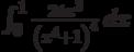 \int_0^1 \frac{24 x^3}{\left(x^4+1\right)^4} \, dx