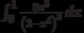 \int_0^1 \frac{8 x^3}{\left(2-x^4\right)^3} \, dx