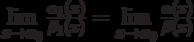 \lim\limits_{x \to x_0} {\frac {\alpha_1 (x)} {\beta_1 (x)}} = \lim\limits_{x \to x_0} {\frac {\alpha (x)} {\beta (x)}}