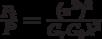 \frac{{P_t }}{{P_{} }} = \frac{{(\pi^2 )^2 }}{{G_r G_t \lambda ^2 }}