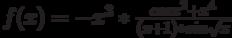 f(x)=-x^3*\frac {cos {x^2}+x^4} {(x+1)*sin{\sqrt x}}