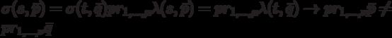\sigma(s, \bar p)=\sigma(t, \bar q)pr_{1,...,\mu}\lambda(s, \bar p)=pr_{1,...,\mu}\lambda(t, \bar q) \to pr_{1,...,\nu}\bar p \ne pr_{1,...,\nu}\bar q