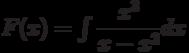 F(x)=\int \dfrac{x^3}{x-x^2} dx