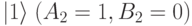 |1\rangle\;(A_2=1,B_2=0)