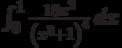 \int_0^1 \frac{18 x^2}{\left(x^3+1\right)^4} \, dx