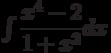 \int \dfrac{x^4-2}{1+x^2} dx